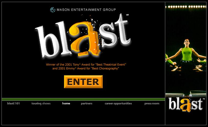 blast broadway show